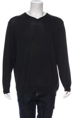 Barneys New York Barney's New York Knit V-Neck Sweater