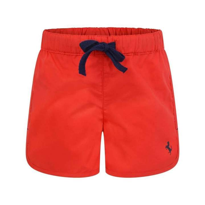 FerrariBaby Boys Red Shorts