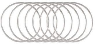 Melissa Joy Manning set of 8 stacking rings
