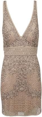 Sherri Hill Short Beaded Cocktail Dress