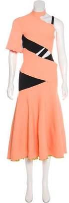 Proenza Schouler Asymmetrical Evening Dress