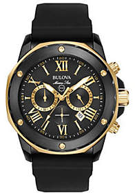 Bulova Men's Marine Star Two-Tone Chronograph Watch