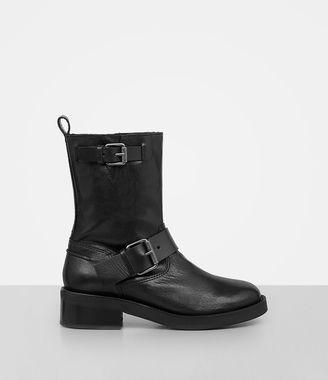 Zadie Biker Shearling Boot $398 thestylecure.com