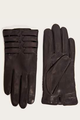 Frye Womens Woven Leather Glove
