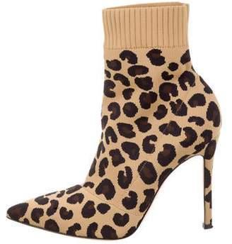 2ec0f6875bce Gianvito Rossi Sauvage 100 Animal Print Boots