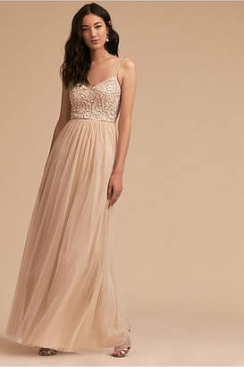 Anthropologie Elowen Wedding Guest Dress