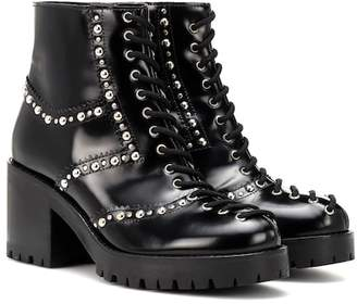McQ Hannah studded leather ankle boots