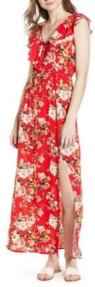 Soprano Ruffle Maxi Dress