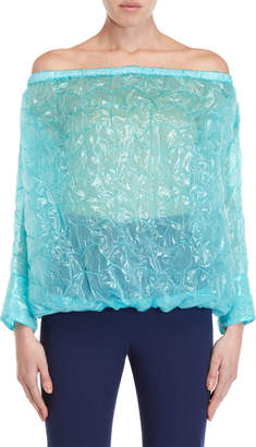 Ter Et Bantine Bubble Wrap-Inspired Top