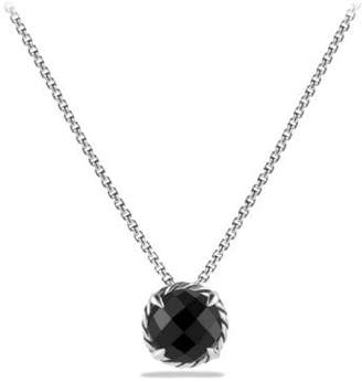 David Yurman Châtelaine® Pendant Necklace With Black Orchid