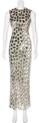 Calvin Klein Collection Velvet Maxi Dress