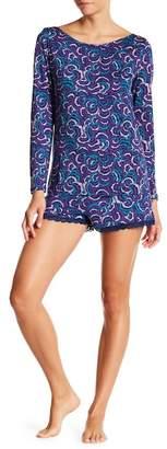 Maidenform Long Sleeve Tee & Shorts Pajama Set