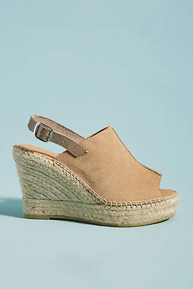 Anthropologie Monica Wedge Espadrille Sandals