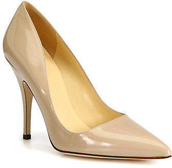Kate Spade Licorice Patent Leather Pumps