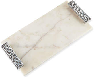 Marigold Artisans Flower of Life Marble Cheese Board