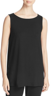 Eileen Fisher Long A-Line Tank $88 thestylecure.com
