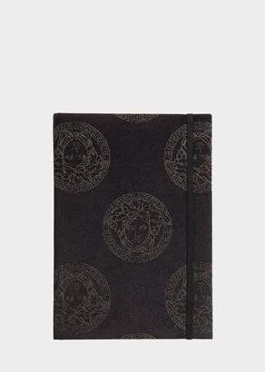 Versace Medusa Royale Silk-Blend Notebook