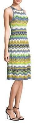M Missoni Wave Crochet Midi Dress