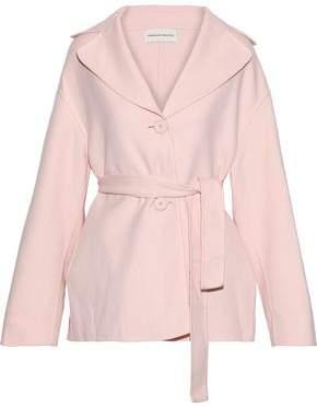 Mansur Gavriel Belted Wool And Cashmere-Blend Coat