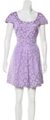 Tibi Jacquard Mini Dress