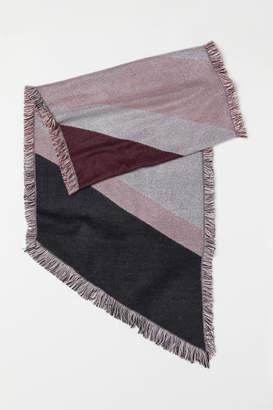 H&M Color-Block Scarf - Pink