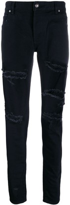 Balmain ripped skinny denim jeans