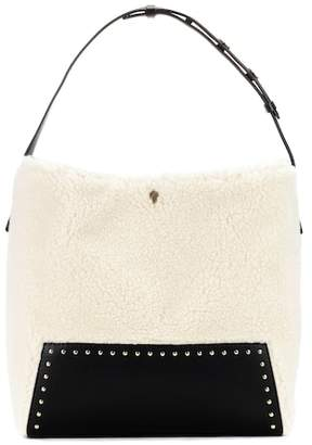 Stella McCartney Faux-shearling shopper