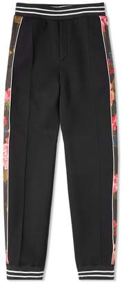 Alexander McQueen Floral Taped Jogger
