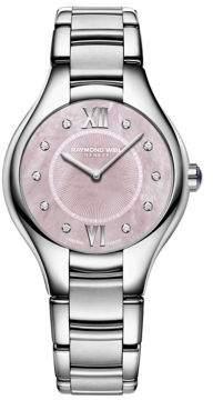 Raymond Weil Noemia Stainless Steel Bracelet Watch