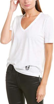 Zadig & Voltaire Wassa Holes Stamp T-Shirt