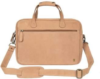 MAHI Leather - Compact Leather Satchel Bag In Vintage Cognac