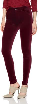 AG Adriano Goldschmied Women's The Farrah Skinny Skinny Opulent Stretch Velveteen