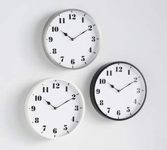 Pottery Barn Standard Wall Clocks