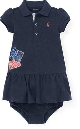 Ralph Lauren Patchwork Polo Dress & Bloomer