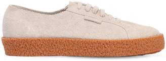 Superga 30mm Mega Paura Hairy Suede Sneakers