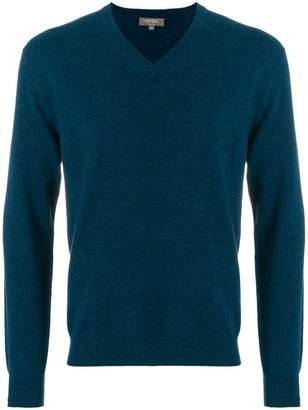 N.Peal Burlington V-neck 1 ply sweater