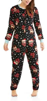 Grumpy Cat Onesie for Adults With Dropseat