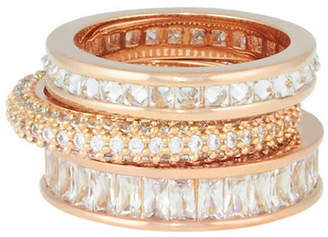 Henri Bendel The Henri Stack Ring Set