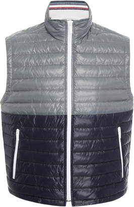 Thom Browne Two-Tone Quilted Down Vest