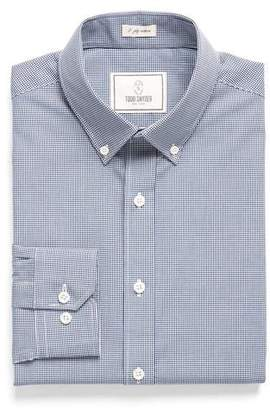 Todd Snyder White Label Button-down Collar Dress Shirt in Blue Gingham