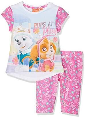 Nickelodeon Girl's Pat-8905 Pyjama Sets,(Manufacturer Size:4 Years)