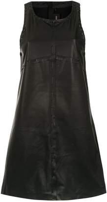 Andrea Bogosian leather dress