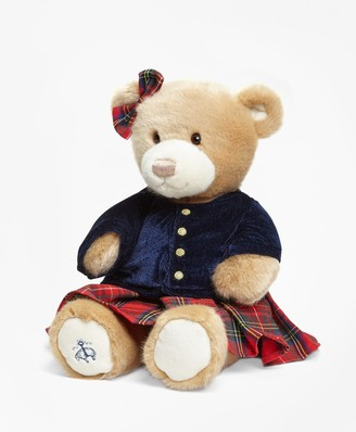 Brooks Brothers Gund Brooke Holiday Bear