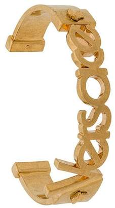 Versace logo cuff