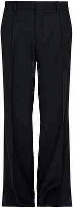 Burberry Straight-leg wool-twill trousers
