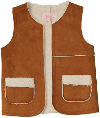 E-Land Kids Girls' Fuzzy Vest