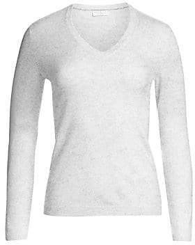 Brunello Cucinelli Women's Elbow-Patch Cashmere Sweater