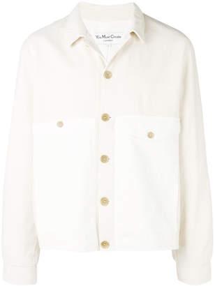YMC relaxed contrast pocket jacket