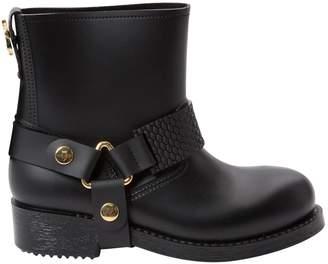 Just Cavalli Black Rubber Boots