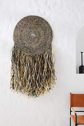 All Across Africa Fringed Wall Hanging